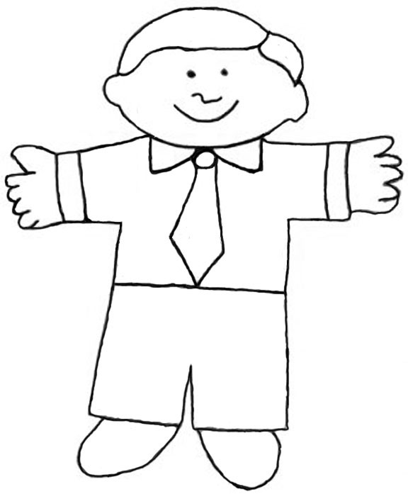 Pin Flat Stanley On Pinterest Flat Stanley Coloring Page